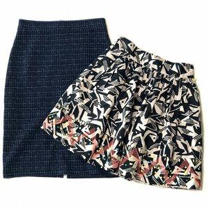 Bundle of Anthro Skirts (Maeve & Odille)